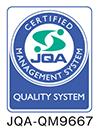 JQA-QM9667 QUALITY SYSTEM(ISO 9001)