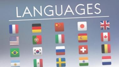 多言語対応による言語切り替え